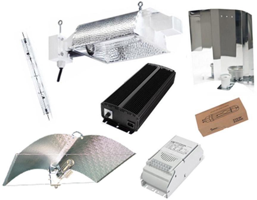 Iluminacion LEC balastros, luminarias y kits
